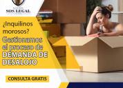 Abogados especialistas en demanda de desalojo