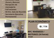 Alquiler e oficinas virtuales y salas de reunión