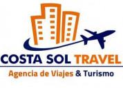 Agencia de viajes áereos