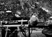 Exploracion minera-maquina packsack