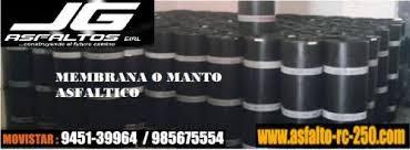 SERVICIO Y VENTA DE MANTO ASFÁLTICOS Y MATERIALES