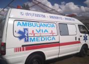 Servicio de ambulancias lambayeque