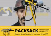 Packsack d50 equipo de perforacion