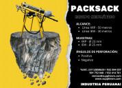 Packsack para mineria